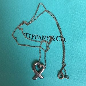 Tiffany & Co Paloma Picasso Loving Heart Necklace